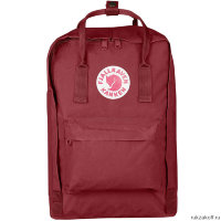 "Рюкзак Fjallraven Kanken Laptop 15"" Бордовый"