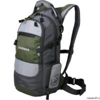 Рюкзак Wenger Narrow Hiking Pack 22 green/grey