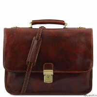 Портфель Tuscany Leather TORINO Коричневый