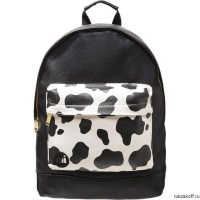 Рюкзак Mi-Pac Gold  Cow Pocket Cream/Black