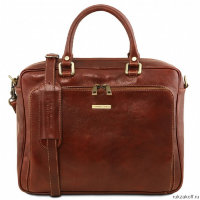 Портфель Tuscany Leather PISA Коричневый