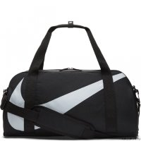 Сумка Kids' Nike Gym Club Duffel Bag Чёрная/Серая