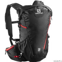 Рюкзак Salomon BAG AGILE 20 AW Black/BRIGHT RED