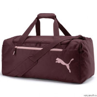 Сумка Puma Fundamentals Sports Bag M Vineyard Wine