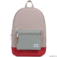 Рюкзак Herschel Settlement Light Khaki Crosshatch/Shadow/Brick Red