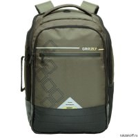 Рюкзак Grizzly Kvadro Olive Ru-616-1