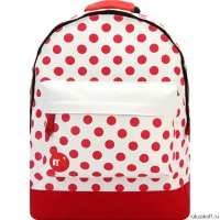 Рюкзак Mi-Pac PolkaDot All Polka Natural/Red
