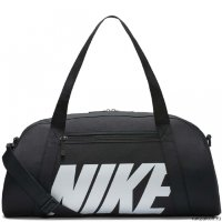 Сумка Women's Nike Gym Club Training Duffel Bag Чёрная/Белая