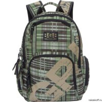 Рюкзак Grizzly Squares Olive Ru-723-1