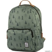 Рюкзак The Pack Society Classic Backpack Green Tree Allower